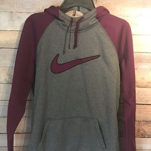 Women's large Nike hooded sweatshirt